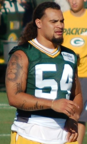 Carl Bradford - Bradford with the Packers in 2015