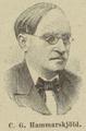 Carl Gustav Hammarskjöld (1838-1898), anonymous engraving.png