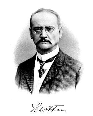 Carl Schotten - Image: Carl Schotten ca.1890