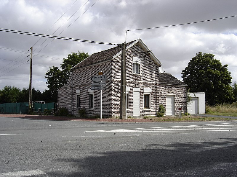 Old railway station of Carnières