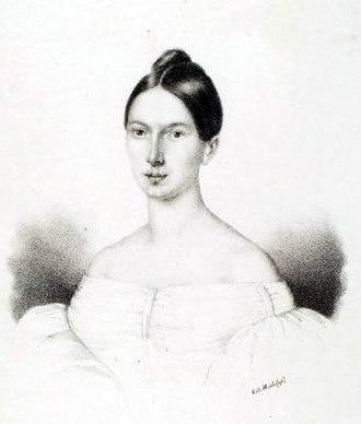 Parisina (opera) - Carolina Ungher, who created the role of Parisina