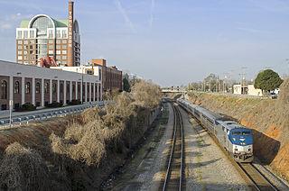 <i>Carolinian</i> (train) rail transport
