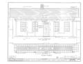 Carson House, 21570 Almaden Road, New Almaden, Santa Clara County, CA HABS CAL,43-ALMA,2- (sheet 4 of 11).png