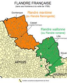 Flandre fran aise wikip dia - Liste des magasins promenade des flandres ...
