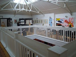 The Cartoon Museum - The first-floor exhibition area