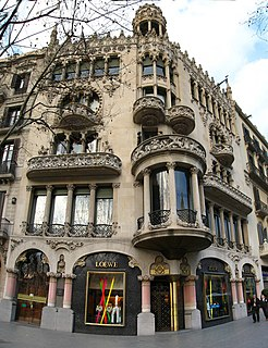 Modernisme townhouse in Barcelona