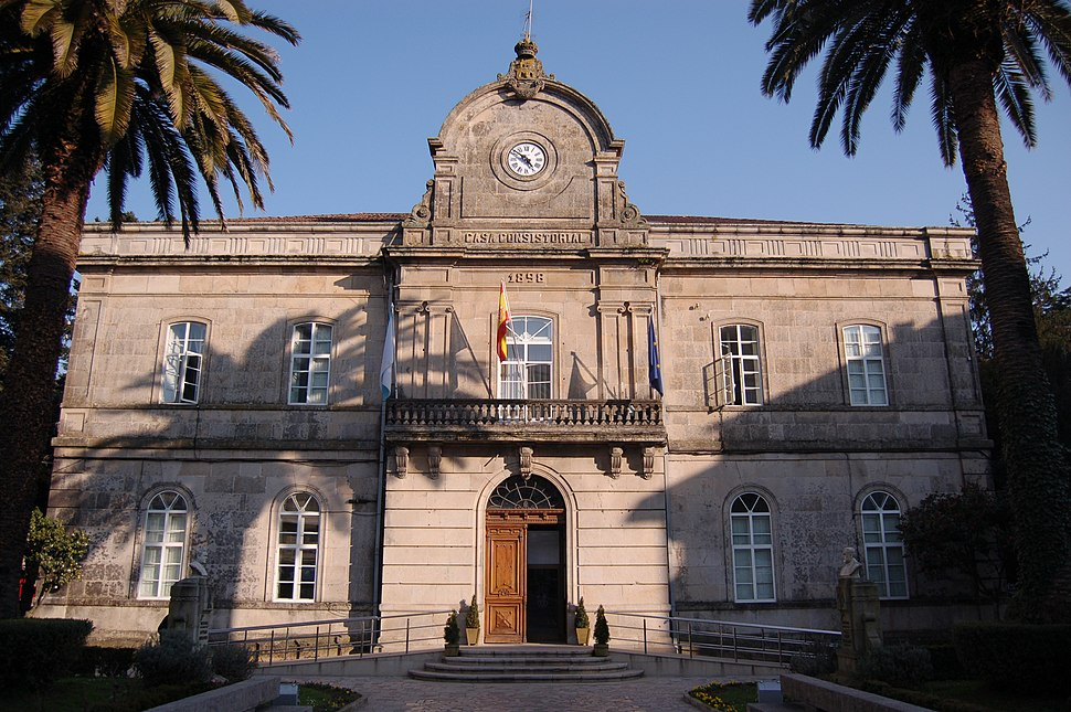 Casa consistorial de Ponteareas