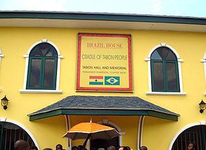 Tabom people - Image: Casa do Brasil em Acra, Gana Brazil House in Accra, Ghana