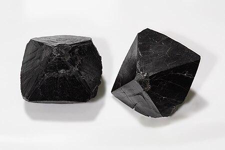 Cassiterite, rare big crystals