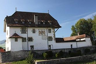 Corbières, Gruyère - Baillival (Bailiff's) Castle