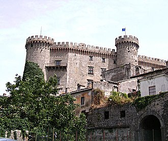 Castello Orsini-Odescalchi - Full view of the Castle Bracciano