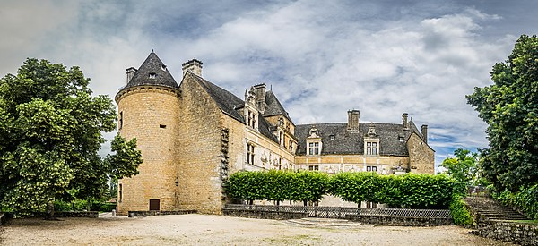 Castle of Montal in Saint-Jean-Lespinasse, Lot, France