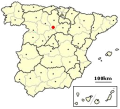 Castrillo de la vega Spain location.png