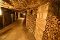 Catacombes de Paris hold the remains of 6 million people (22485547311).jpg