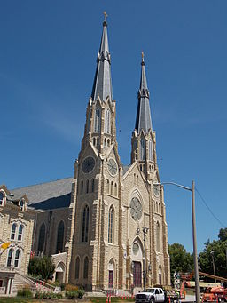 Cathedral of St. Mary Peoria Illinois