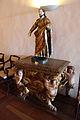 Cattedrale di salvador, int., statua su mobile barocco.JPG