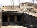 Cave Entrance at Kanheri.JPG