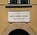 Cecina, villa guerrazzi, 05 lapide francesco domenico guerrazzi.jpg