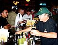 Celebrating St Patricks Day, 2008, OKellys Irish Pub, Guantanamo.jpg