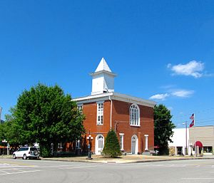 Celina, Tennessee - Clay County Courthouse in Celina