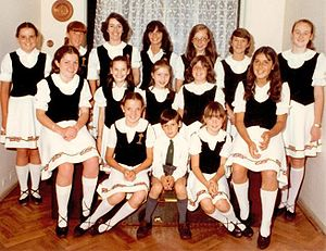 Irish Argentine - Pupils from an Irish dancing school in Argentina