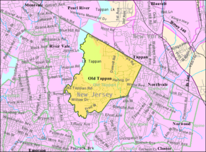 Census Bureau map of Old Tappan, New Jersey.png