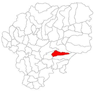 Cetate, Bistrița-Năsăud Commune in Bistrița-Năsăud, Romania