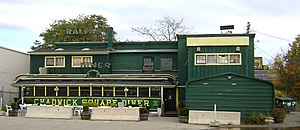 Chadwick Square Diner - Image: Chadwick Square Diner Worcester MA