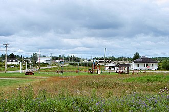 Champneuf, Quebec - Image: Champneuf QC