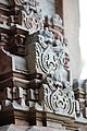 Chandramouleshwar Temple, Artistic designs on gopuram carved in Chalukya style.jpg