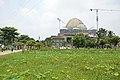 Chandrodaya Mandir Under Construction - Temple Of Vedic Planetarium - ISKCON Campus - Mayapur - Nadia 2017-08-15 1994.JPG