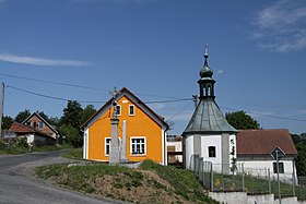 Chapel in Polanky in Plzen-South District in 2011 (1).JPG