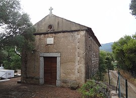 The chapel of San Ghjambattista di Prunu, in Figari
