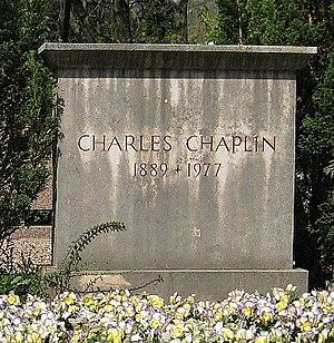 Corsier-sur-Vevey - Charlie Chaplin's grave in Corsier-sur-Vevey