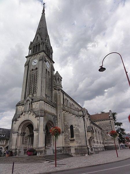 Chauny (Aisne) église Notre-Dame