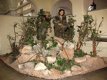 El Che y Camilo en el Museo de la Revolución de La Habana