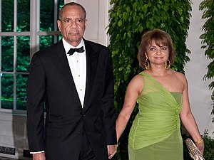 Kenneth Chenault - Chenault and his wife at Barack Obama's second state dinner