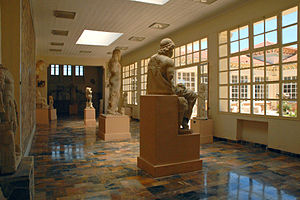 Archaeological Museum of Cherchell - Sculptures in the Museum of Cherchell.