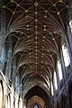 Chester Cathedral - interior, view of nave vaulted ceiling.jpg