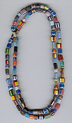 Caborn-Welborn culture - Glass trade beads of the type used by the Spanish