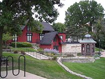 Chicago, Burlington, and Quincy Railroad Depot (Batavia, IL) 04.JPG