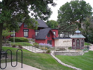 Batavia, Illinois - Chicago, Burlington and Quincy Railroad Depot Museum