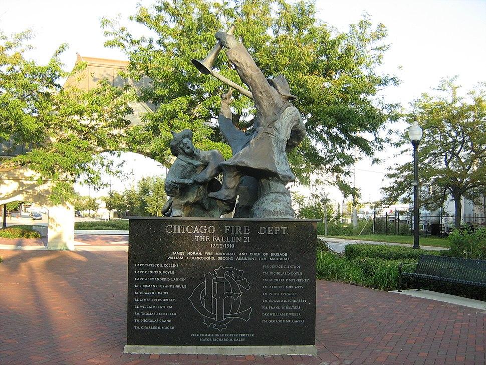Chicago Fire Department The Fallen 21 Memorial