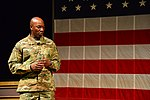 Chief Master Sgt. of the Air Force visit USASMA DSC 0090 (23683009908).jpg
