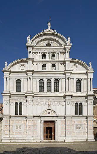 San Zaccaria, Venice - Facade of the church