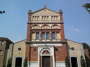 Santa Maria alla Fontana, Milan - Façade of the church.