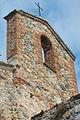 Chiesa medievale di San Lorenzo - Dettaglio del campanile a vela.jpg