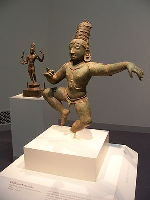 Sambandar - The Child Saint Sambandar, chola bronze, 12th century India, Freer Gallery of Art, Washington DC