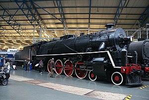 China Railways KF - Chinese KF7 in the National Railway Museum in York