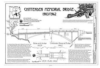 Chittenden Memorial Bridge - Artist rendering